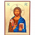 Ikona Jezus Pantokrator duża