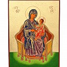 Ikona Matka Boska Tronująca