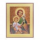Ikona ze św. Józefem większa wzór 2