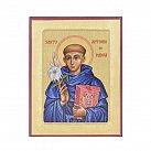 Ikona ze św. Antonim, mniejsza