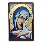 Ikona Oblubienica Ducha Świętego malowana