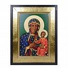 Obraz Ikona Matka Boża Częstochowska w ramie