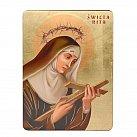 Ikona świętej Rity 17x23 cm
