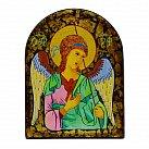 Ikona Anioł Stróż półowal