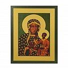 Obrazek z ikoną Matki Boskiej Częstochowskiej wzór 2