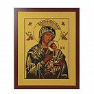 Obrazek z ikoną Matki Boskiej Nieustającej Pomocy wzór 2