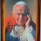 Obraz Jan Paweł II Wadowice 50x70 cm