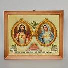 Obrazek w ramce Jezus i Maryja