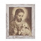 Obrazek w ramce  Jezus Dobry Pasterz