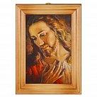 Obrazek w drewnianej ramce Jezus wg brata Elia
