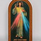 Obraz Jezusa Miłosiernego 17x8.5