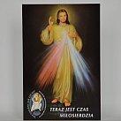 Obrazek Jezus Miłosierny papierowy 10x15