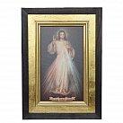 Obraz Jezus Miłosierny na płótnie w ramie