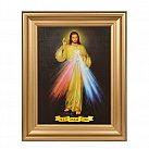 Obraz Jezu Ufam Tobie w gładkiej ramie