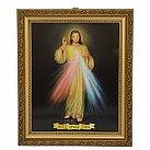 Obrazek w ramce Jezus Miłosierny w ozdobnej ramce