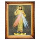 Obraz w ramie Jezus Miłosierny Jezu Ufam Tobie