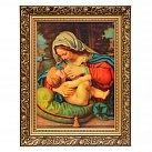 Obraz Matka Boska Karmiąca (ozdobna rama)