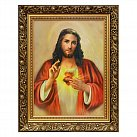 Obraz Serce Jezusa (ozdobna rama)