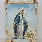 Obrazek z Matką Boską Niepokalaną