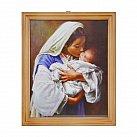 Obrazek Matka Boża Całująca 20x25