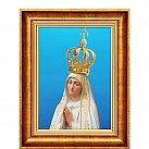 Obraz Matka Boska Fatimska ozdobna rama