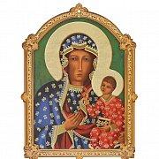 Obrazek Matka Boża Częstochowska sklejka