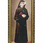 Obrazek w ramce św. Faustyna Kowalska 24x49