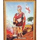 Obraz św. Florian 50 x 70 cm