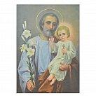 Obrazek ikona św. Józef z Jezusem