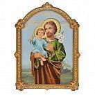 Obrazek św. Józef na sklejce