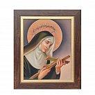 Obraz św. Rita w ramie 20 x 25