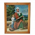 Obrazek w ramce św. Anna