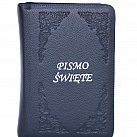 Pismo św. Biblia Tysiąclecia mała - paginowana granatowa