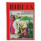 Biblia dla najmłodszych czerwona