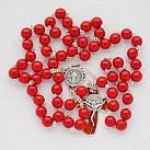 Różaniec św. Benedykt czerwony