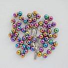 Różaniec kamienie Hematyt kolor