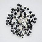 Różaniec kamienie Onyks 6 mm