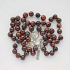 Różaniec kamienie Czerwone Tygrysie Oko 10 mm