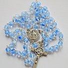 Różaniec kryształkowy jasnoniebieski