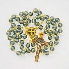 Różaniec Benedykt oliwkowy kolorowy