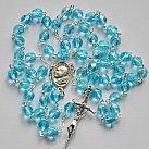 Różaniec kryształkowy z Matką Boską Częstochowską