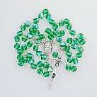 Różaniec kryształkowy zielony