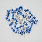 Różaniec Matka Boża Częstochowska niebieski
