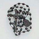 Różaniec plastik, kolor czarny