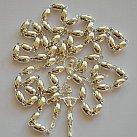 Różaniec srebrny ziarenko