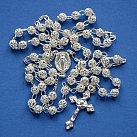 Różaniec srebrny ażur