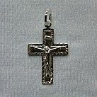 Krzyżyk srebrny wzór 7
