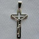 Krzyżyk srebrny wzór 9