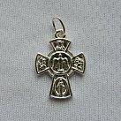 Krzyżyk srebrny wzór 10