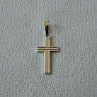 Krzyżyk srebrny wzór 11
